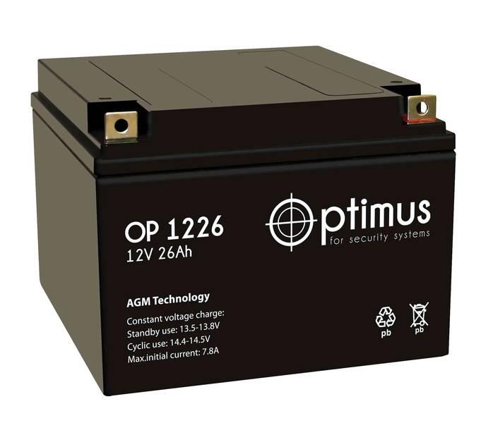 Аккумулятор Optimus OP 1226